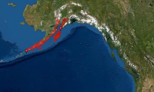 7,1 по Рихтер в Аляска в кадър: Земята се тресе над минута!