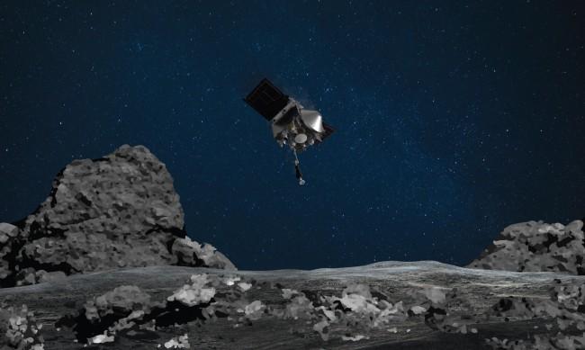 Апарат на НАСА взе проба от повърхността на астероида Бену