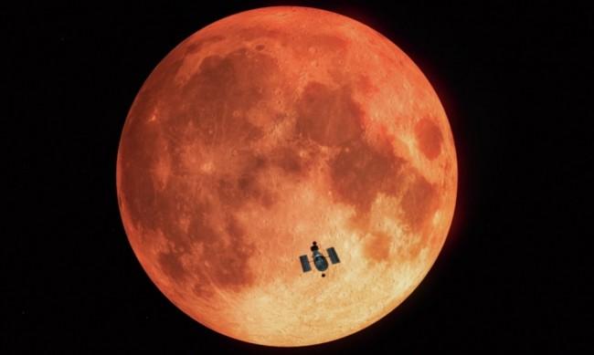 НАСА с  процедура за изграждане на атомен реактор на Луната