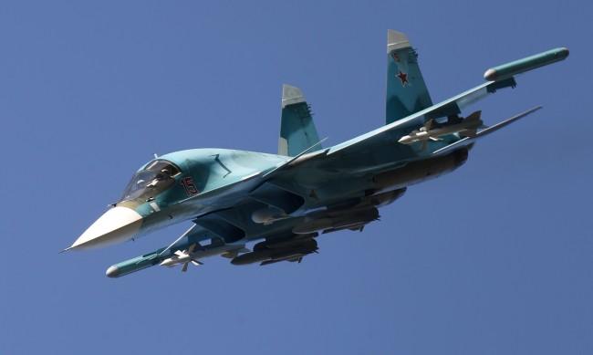 Руски бомбардировач Су-34 се разби в Далечния изток