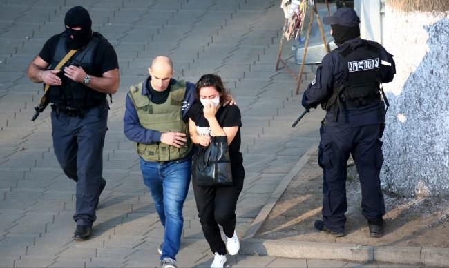 Грузинската полиция освободи 43-ма заложници в банка