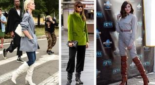 Модни идеи как да носим ботуши?