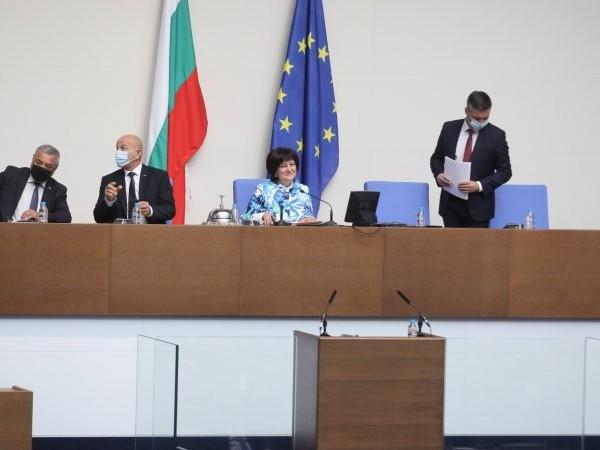 Председателят на Народно събрание Цвета Караянчева покани европейските институции да