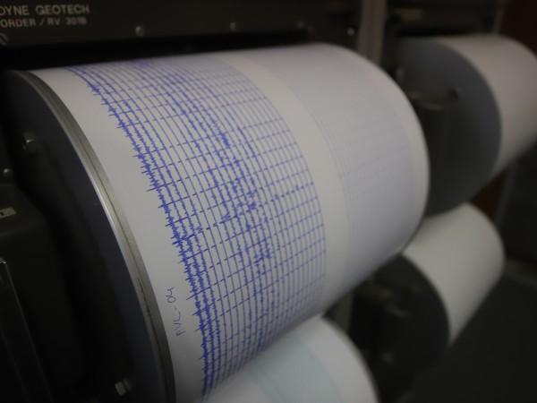 Земетресение е регистрирано между селата Церово и Долно Осеново, сочи