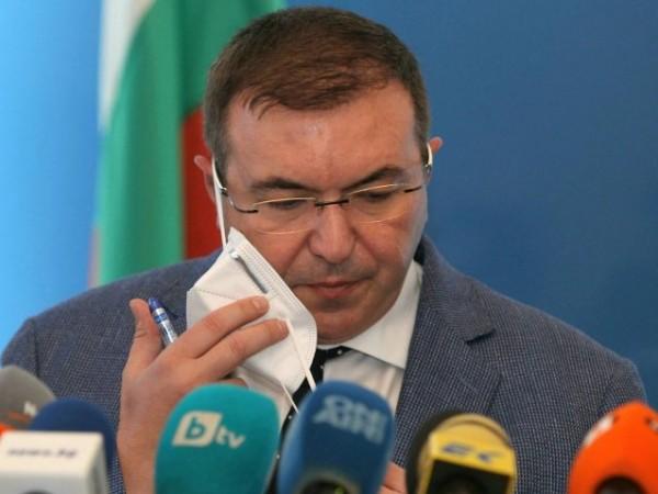 Министърът на здравеопазването Костадин Ангелов съобщи в своя профил в