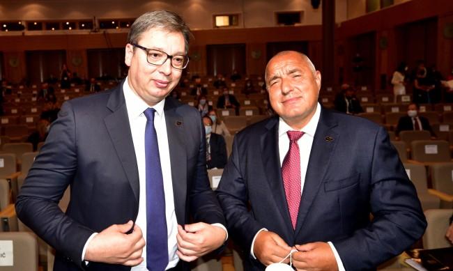 Вучич с туит, пожела бързо оздравяване на Борисов