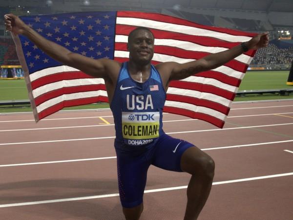 Американският спринтьор Крисчън Коулман получи двугодишна забрана да се състезава