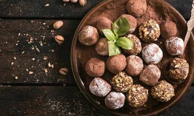 Рецептата Dnes: Шоколадови бонбони с крема сирене