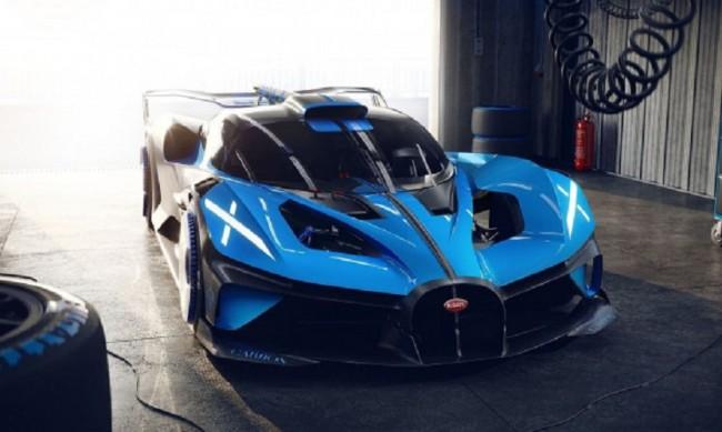С 1850 конски сили: Bugatti показа най-екстремната си кола досега