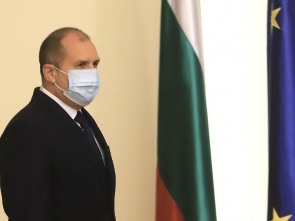 Президентът Румен Радев реагира на коментара на премиера Бойко Борисов,
