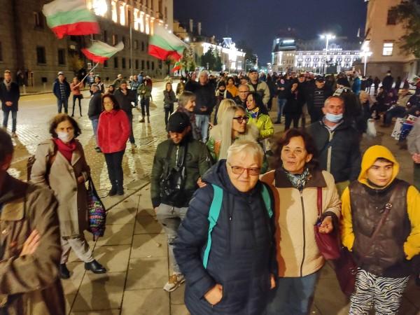 112-та поредна вечер на протест в София. Исканията на протестиращите