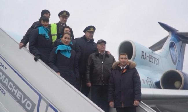 Краят на една ера: Ту-154 извърши последния си полет