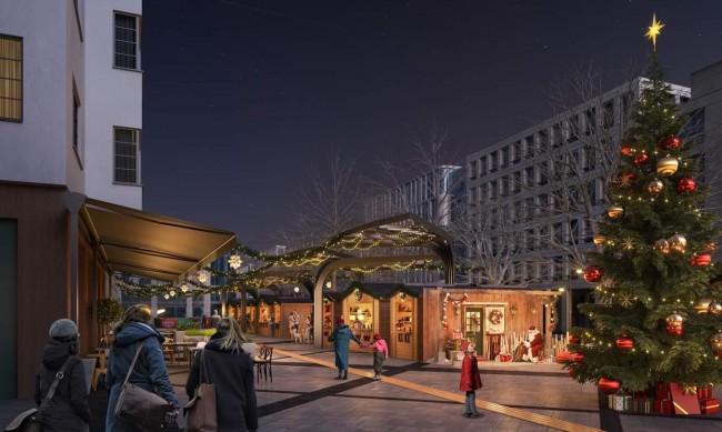 Коледен базар ще бъде открит на пл.