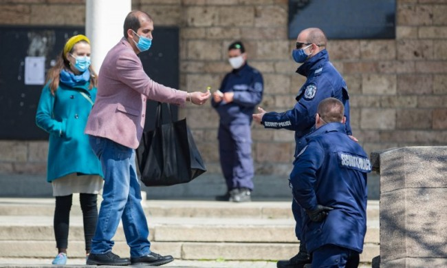 Щафетният полицейски протест продължава, стигна до Благоевград