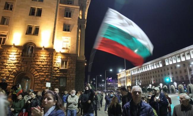 113 ден на протест: Студенти блокираха кръстовището пред Ректората