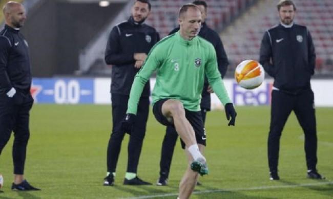 """Лудогорец"" падна, допусна втора поредна загуба в група J на Лига Европа"