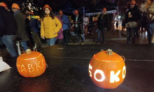 Пореден 115-и ден на протест - под знака на Хелоуин