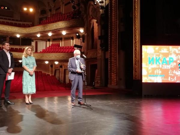 """Въпреки пандемията от коронавирус, тази вечер в """"Народния театър"""" се"""