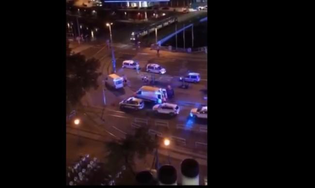 Стрелба до синагога във Виена, няколко души са ранени