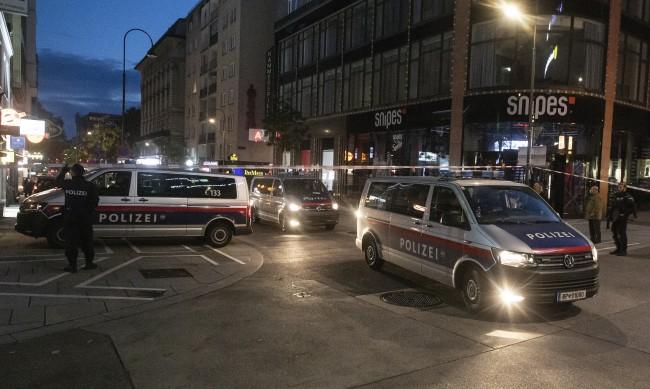 Нападателят във Виена - гражданин на Австрия и Северна Македония
