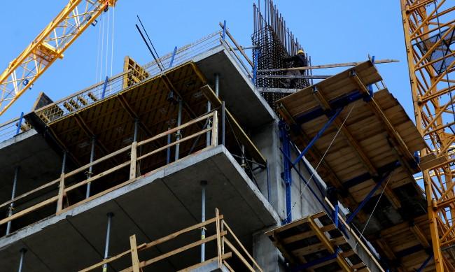 Строителството с ръст, най-много в София и Пловдив