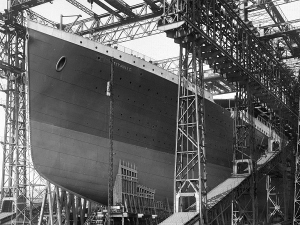 """Писмо, написано от Джон Харпър, загинал на злополучния """"Титаник"""", ще"""