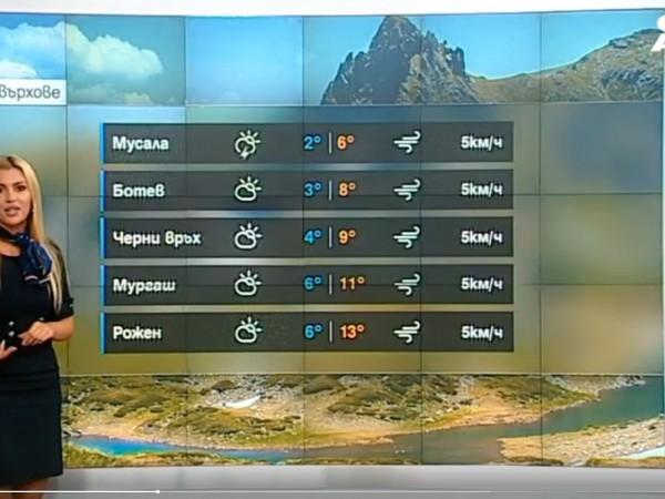 Минималните температури днес ще са от 3 до 8 градуса,