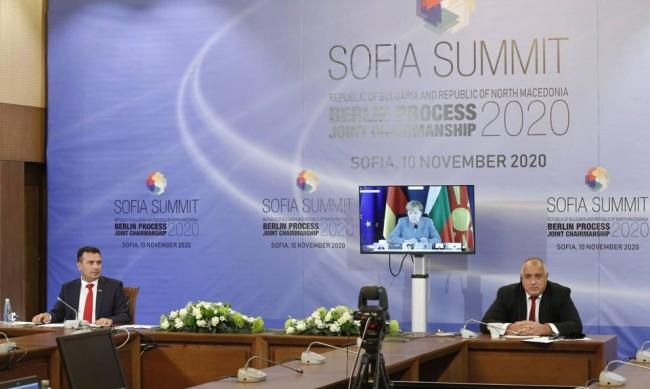 Борисов: Съвместното домакинство със Скопие е символично