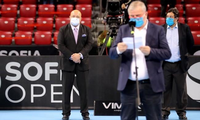 Министър Красен Кралев участва в награждаването на Sofia Open 2020