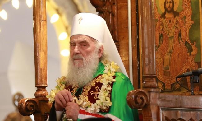Сръбския патриарх Ириней в болница след усложнения от COVID-19
