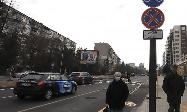 """Възстановено е движението в южното платно на бул. """"Т. Каблешков"""" в София"""