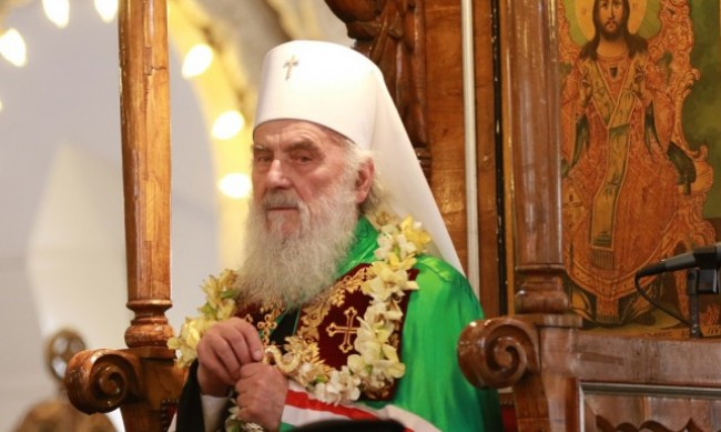 Сръбският патриарх Ириней се влоши, интубираха го