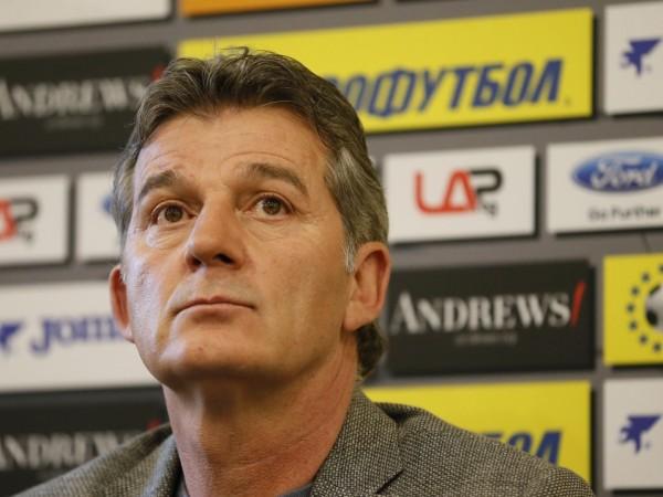Вицепрезидентът на БФС Емил Костадинов призна, че е огорчен от