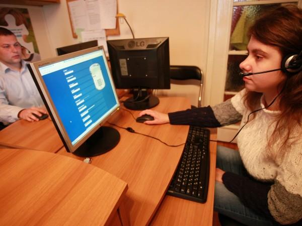 Само за ден на телефонната линия за консултации на хронично