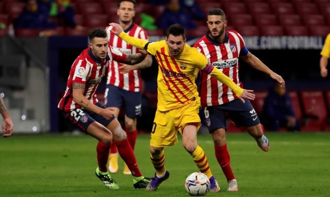 Атлетико надигра Барселона, Караско герой