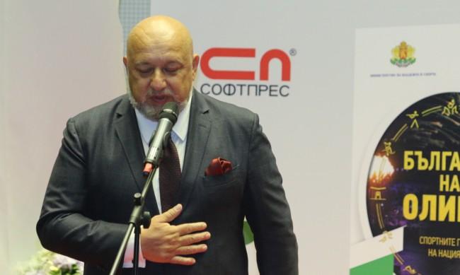 Красен Кралев със съболезнования към близките на Никола Спасов