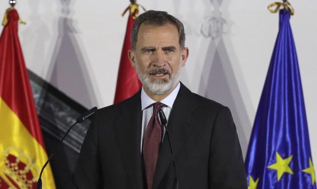 Испанският крал е под карантина