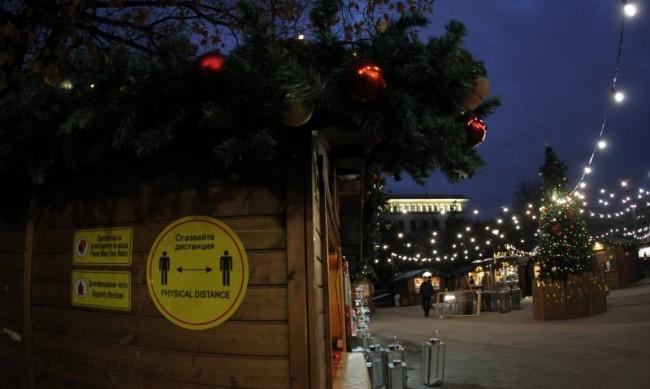 Ако не спазват мерките, затварят коледните базари в София