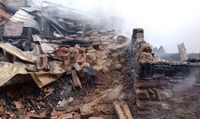 Късо съединение причинило пожара, погубил животни в Белица