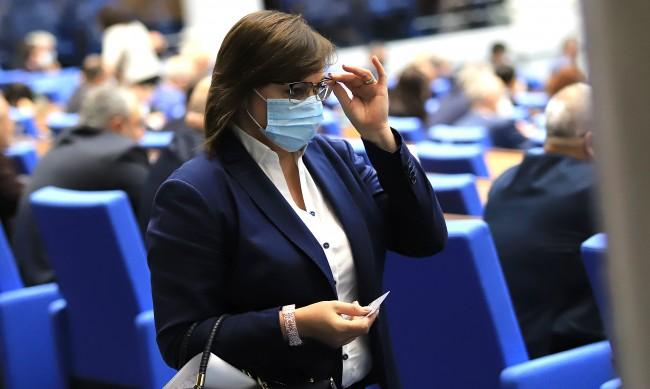 Нинова скочи: Обещанията на Борисов за помощ в кризата – голи думи!
