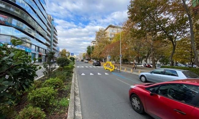"""Бургас монтира """"мини коли"""" в помощ на пешеходците"""