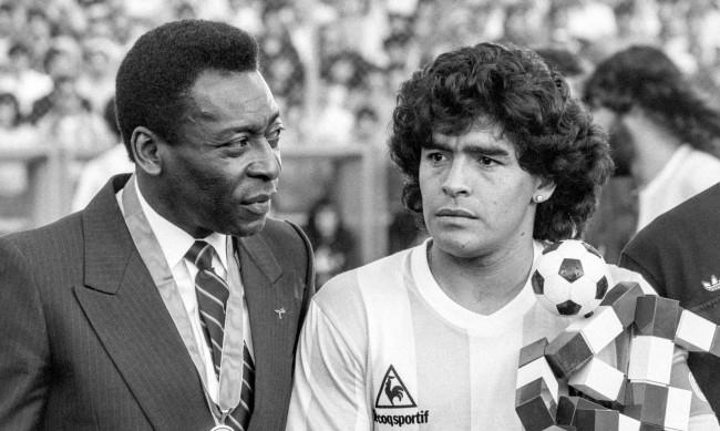 Пеле през сълзи: С Марадона ще играем футбол на небето
