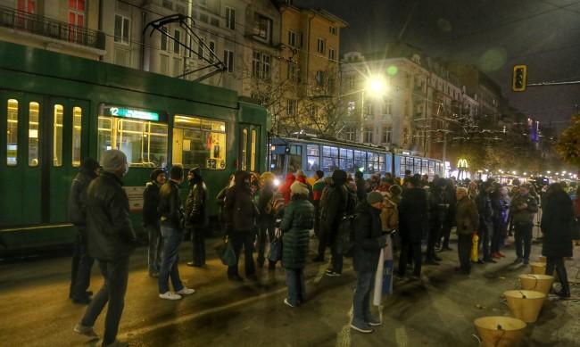 Двама са арестувани заради кавга след снощния протест в София