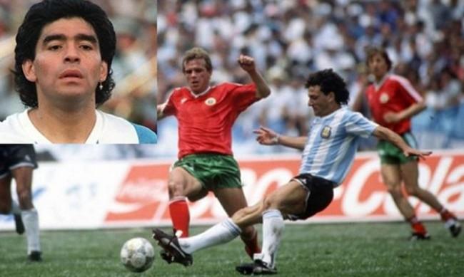 Пламен Гетов: Диего Марадона ми подари гащетата си след мача ни с Аржентина