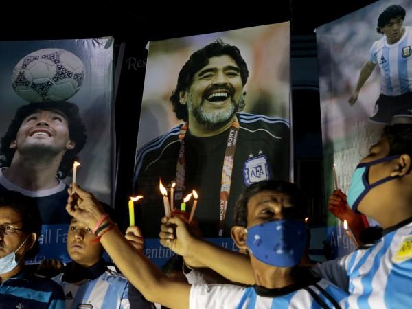 Диего Марадона беше признат като един от най-великите футболисти на