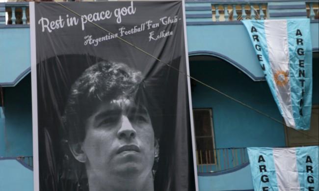 Дъщерята на Диего Марадона се сбогува трогателно с баща си