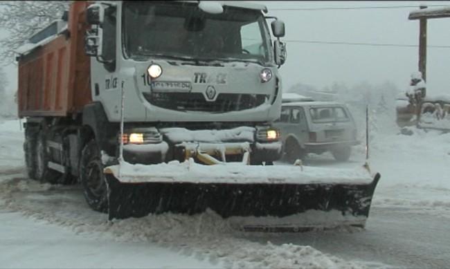 Снегът се задава тази нощ, първо в Западна България