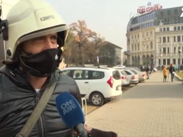 Служители от системата на МВР излязоха на втори национален протест,