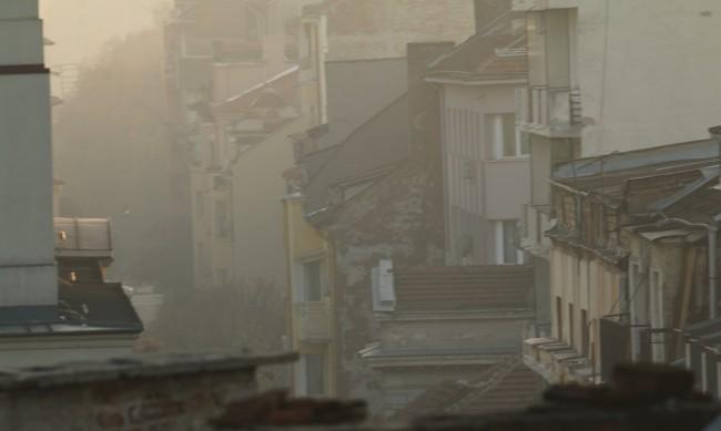 Едва 11% от замърсяването на въздуха в София е от транспорта