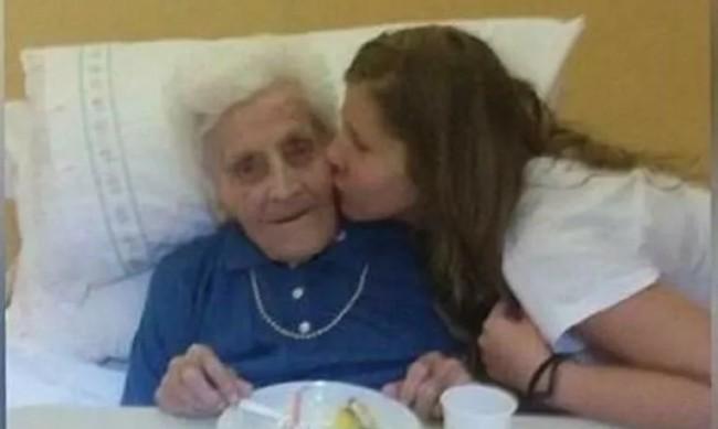 101-годишната баба Мария от Италия преборила COVID-19 цели три пъти